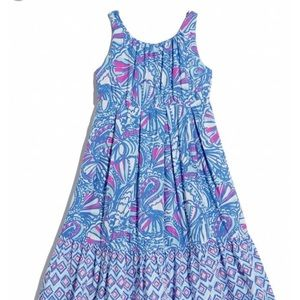 Lilly Pulitzer target maxi dress my fans M NEW